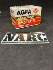 Agfa XRG 100 35mm expired film