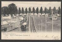 Postcard Cleveland Ohio USA a Scene on Euclid Beach antique ride posted 1905
