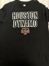 MLS Houston Dynamo Men's Logo Shirt - Black - C355