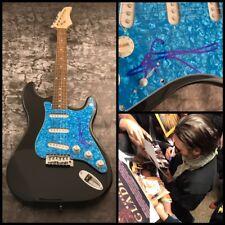 GFA Walk the Line Johnny Cash * JOAQUIN PHOENIX * Signed Electric Guitar AD1 COA