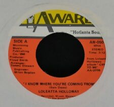 Loleatta Holloway AWARE 050 I Know Where You're Coming From