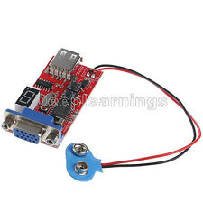 1PCS VGA Signal Generator LCD Tester 15 Signal Output USB Battery Power Supply