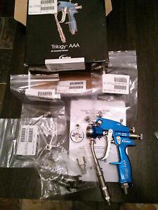 Nordson- Trilogy AAA paint spray gun binks capspray graco kremlin