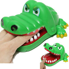Funny Large Crocodile Mouth Dentist Bite Finger Game Toy Kids Children Cute Gift