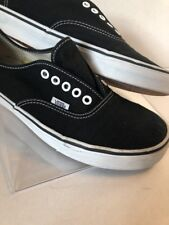 Vans Low Cut Lace Top Black Men 10