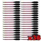 36 ALUMINUM METAL BOLTS ARROWS FOR 50 & 80 LB CROSSBOW ARCHERY XBOX - RED