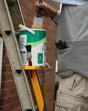 Ladder shelf/tray, paint holder or tool holder ladder attachment. DIY present