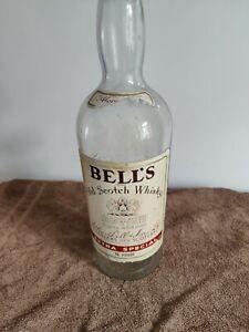 Large bells whiskey bottle