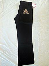 (BT) Womens Big Size Stretch Solid Black Jeans, Plus Size (16/17) NWT