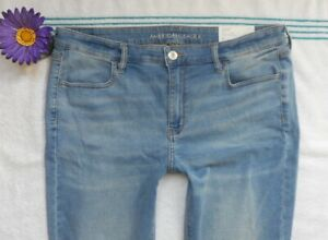 New American Eagle Womens Stretch Jegging Jeans Size 18 Long