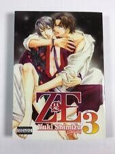 ZE Vol 3 Yuki Shimizu English Yaoi Manga book-Excellent Cond