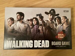 The Walking Dead Board Game (2011) 100% Complete Cryptozoic