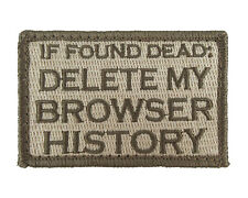 If Found Dead Delete My Browser History Hook & Loop Morale Tags Patch SUB