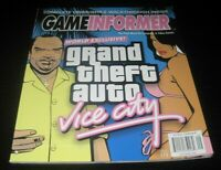 Vintage Game Informer Magazine Nintendo PS Grand Theft Auto Vice 2002 issue 113