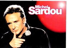 MICHEL SARDOU -  Postcard - France