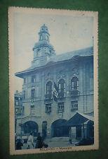 Cartolina Bolzano Municipio Bandiera Stemma Sabaudo 1929 CB721 ^