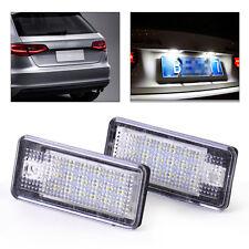 2 ×für Audi A4 A6 Q7 LED Kennzeichen Beleuchtung Leuchte Kennzeichenbeleuchtung