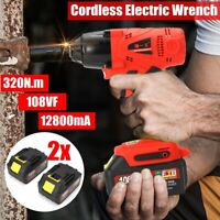 Cordless Elctric Wrench Rattle Gun Driver Power Battery Tool Electric Torque