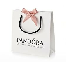 Genuine Pandora Bracelet Bag & Ribbon
