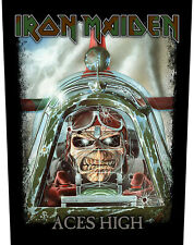 Iron Maiden Aces High Unisex Backpatch Multicolor