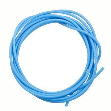 2mm Sky Blue Hollow Rubber Jewellery Tube Cord 2 Metre (N109)