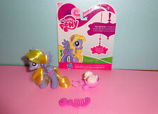 My Little Pony Lily Blossom + Wagon, Pet, & Comb - HTF!
