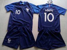 ensemble football enfant + short bleu no 10
