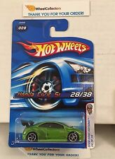 #2  Honda Civic Si #28 * Green w/ Silver OH5 rims * 2006 Hot Wheels * B27