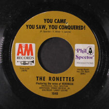 RONETTES: You Came, You Saw, You Conquered / Oh, I Love You 45 (co) Oldies