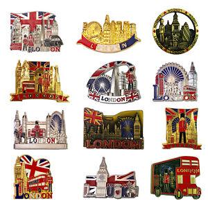 London Souvenirs Fridge Magnet, UJ British Landmarks Bottle Opener Metal Magnets