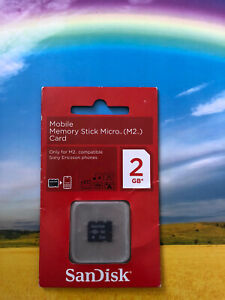 SanDisk M2 2GB Memory Card For PSP Go New and Sealed