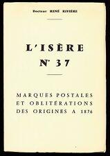 France, L'IsÈRe (No. 37), Marques Postales & Oblitérations, Rivière