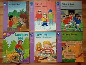 6 x Oxford Reading Tree Books. First Sentences - Biff, Chip & Kipper - Level 1+
