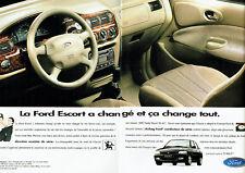 Publicité Advertising 117  1995  La  Ford  Escort 1800TD (2p) Mac Pherson