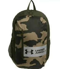 Under Armour Roland Backpack In Outpost Olive Green Camo 17L Bag