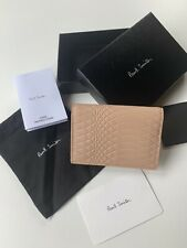 PAUL SMITH - Mens Leather collection No 9- Fold Over Credit Card holder BNIB