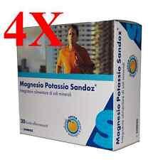 MAGNESIO E POTASSIO SANDOZ OFFERTA 4X- Integratore di Sali Minerali - 80 buste