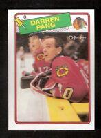 1988-89 OPC O-Pee-Chee DARREN PANG Rookie #51 NM-MINT Hockey Detroit Red Wings