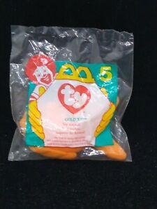 Happy Meal Toy - 1996 Teenie Beanie Baby #5 Goldie