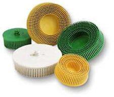 """3M Company 7527 3"""" Yellow Scotch-Brite Roloc Bristle Discs"""