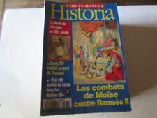 "HISTORIA  573  ..  ""    les combats de moise  "".."