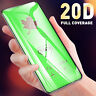 3Pcs 20D Coverage Tempered Glass Screen Protector/Transparent For Apple iPhone