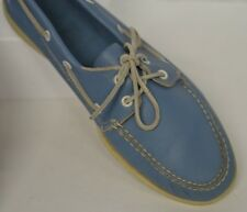 Sperry Top-Sider Men's Sz 11 M Light Blue Lace Up Boat Oxford Shoes Casual Soft