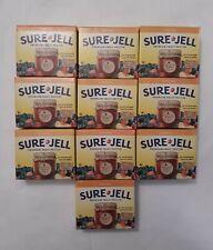 Sure Jell Premium Fruit Pectin 1.75 oz Per Box Lot of 10 Exp. MAY 5 2023