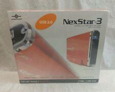 """Vantec Nexstar 3 USB 2.0 External 3.5"""" Hard Drive Enclosure (Red) IDE to USB"""