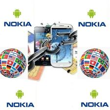 LIBERAR UNLOCK NEW NOKIA  ANDROID 1,2,3,5,6,7,8 SIROCCO  PLUS ...WORLDWIDE
