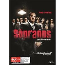 The Sopranos Series Complete Seasons 1-6 New DVD Boxset Oz Edition Region 4