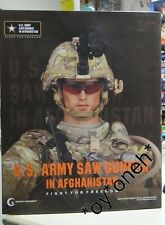 Crazy Dummy Cd78004 U.S. Army Saw Gunner In Afghanistan 1/6 Action Figure