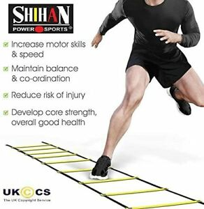 2M Speed Agility Ladder Fitness Training Ladder Soccer Sports Footwork Practise