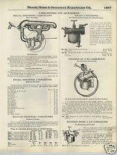 1924 PAPER AD Special Stromberg Holley Kingston Deluxe Ford Car Carburetor Truck